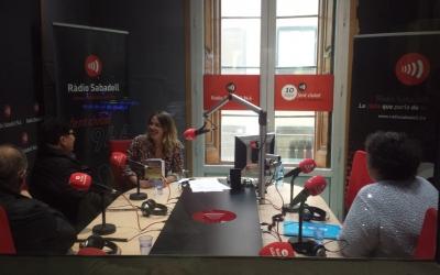 La Isabel, la Maria i el Kike a Ràdio Sabadell | Pau Duran