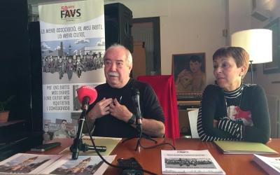 Manuel Navas durant la roda de premsa a l'Espai Àgora  Ràdio Sabadell