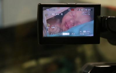 El primer nadó del 2019 nascut en un hospital públic català, l'Emma Romero | ACN