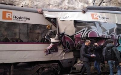 Una persona morta i diversos ferits en un xoc de trens a l'R4 | Cedida