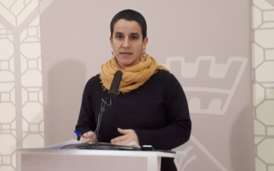 Glòria Rubio ha presentat avui el nou Pla/ Karen Madrid