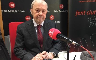 Antoni Maria Brunet avui a Ràdio Sabadell | Mireia Sans