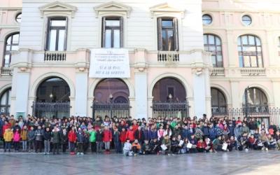Imatge de grup dels participants al projecte CUEME/ Ajuntament de Sabadell