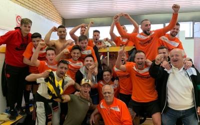 Els jugadors de la Sabadellenca van sortir victoriosos del derbi de Segona Catalana. | @sabadallenca_ue