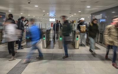 Estació de Sabadell Renfe Centre aquest matí | Roger Benet