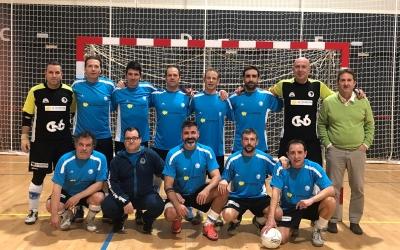 El Club Natació Sabadell reuneix veterans en la seva nova secció.   @cnsfutbolsala