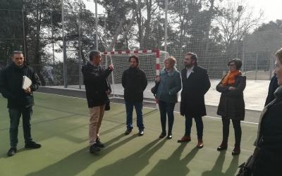 Acte de presentació del nou Poliesportiu Les Termes. | Sergi Park