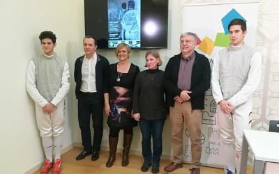 Aquest matí s'ha fet la presentació del torneig a la sala de premsa de l'Ajuntament. | Sergi Park