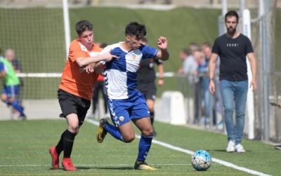 El Sabadell 'B' va golejar a la Sabadellenca a la primera volta (5-0). | Roger Benet