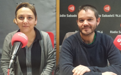 Jiménez i Burguès a l'estudi | Pau Duran