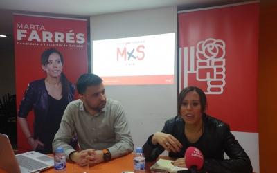 Gibert i Farrés presentant la campanya a Ca la Lola | Pere Gallifa