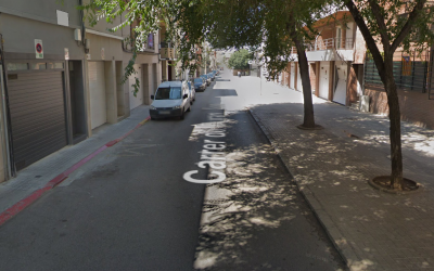 Les obres del carrer Duran i Sors comencen demà dilluns | Google Maps