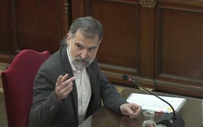 Jordi Cuixart, declarant al Tribunal Suprem pel judici de l'1-O | ACN