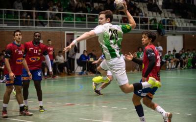 Guillem Correro va fer sis gols en el partit de la primera volta | Èric Altimis - OAR Gràcia