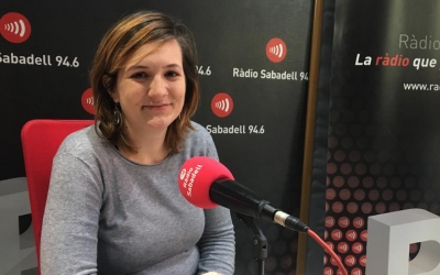 Mònica Lòpez a Ràdio Sabadell | Mireia Sans