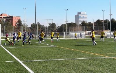 El porter de Les Franqueses va ser el millor del partit. | Sergi Park