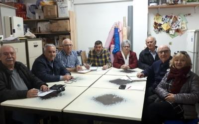 Portaveus de les entitats que integren la Plataforma per a la Residència del Sud/ Karen Madrid