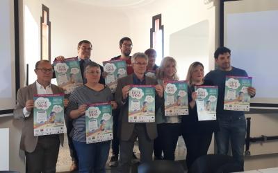 Impulsors de la cursa i representants del Taulí han presentat avui la 4a edició de Sabadell corre pels Nens/ Karen Madrid