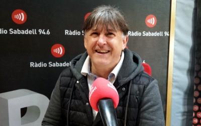 Jordi Grané, als estudis de Ràdio Sabadell/ Pau Duran