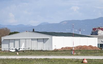 Edifici on s'allotjarà el museu a l'Aeroport   Roger Benet