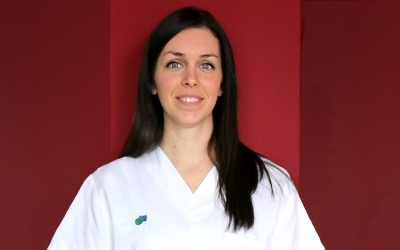 Lídia Martí, la infermera premiada/ Taulí