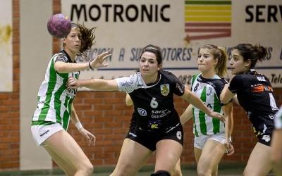 Marina Graell durant la seva etapa com a jugadora verd-i-blanca | OAR Gràcia