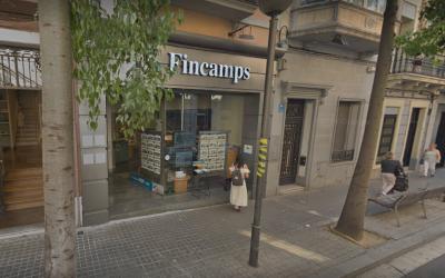 Façana de la immobiliària Fincamps | Google Maps
