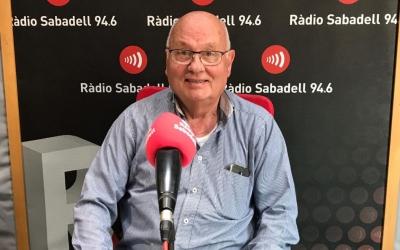 Miquel Borràs és el president de la Unió Ciclista de Sabadell. | Adrián Arroyo