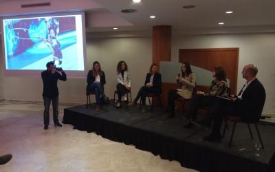 D'esquerra a dreta, Vílchez, Casado, Rodríguez, Fernández, Cuesta i Hernández | Ciutadans Sabadell