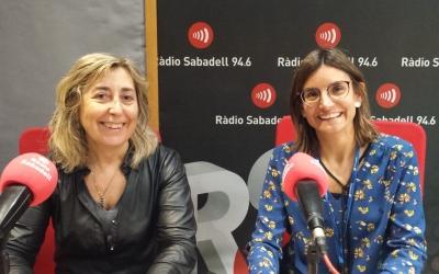 La infermera Antònia Martínez i l'oncòloga Teresa Bonfill/ Ràdio Sabadell