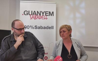 Miquel Soler i Marisol Martínez presentant el seu probjecte de mobilitat a la comarca | Pere Gallifa