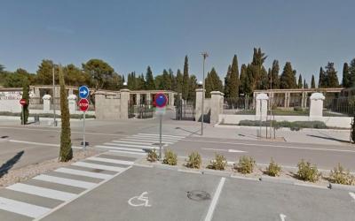 Entrada del Cementiri de Sabadell | Goggle Maps