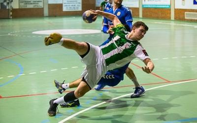 Els gols de Guillem Correro no van ser suficients per evitar la primera derrota de la segona volta. | Èric Altimis - OAR Gràcia