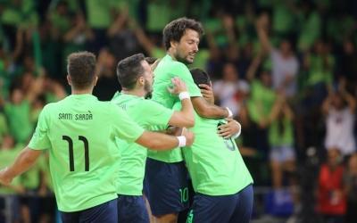 Imatge del partit disputat al Palau Blaugrana | FCF