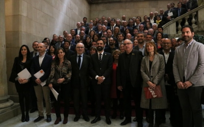 Fotografia de família de la signatura del pacte | ACN