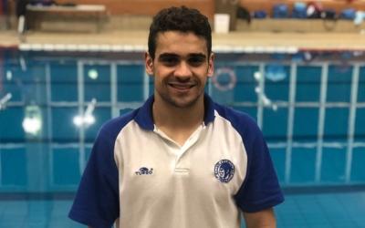 Salguero, campió de la Triple Corona, participa aquest cap de setmana al Campionat d'Espanya de natació adaptada. | @oscarsalguero1