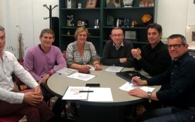 Imatge de la trobada entre l'Ajuntament i la UAB | Cedida