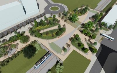 Així serà la nova plaça Lisboa |Ajuntament de Sabadell