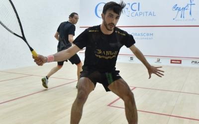 Iker Pajares va imposar-se al francès Lucas Serme en la primera ronda. | PSA