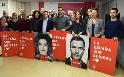 Aranda és el número 6 de la llista socialista per Barcelona   Roger Benet