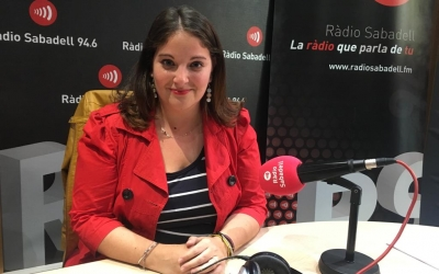 Mabel Rodríguez, de Front Republicà, a Ràdio Sabadell | Mireia Sans