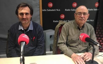 Sebastià Tuiz i Sebastià Ribas de Som Energia | Mireia Sans