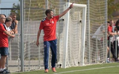L'entrenador blaugrana ha aconseguit consolidar l'equip a la zona mitjana de la classificació. | Roger Benet