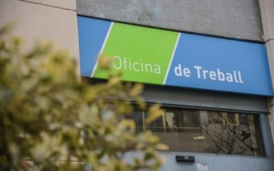 Una oficina de Treball de Sabadell | Roger Benet
