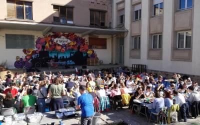 Calçotada al Casal Popular El Tallaret | Cedida