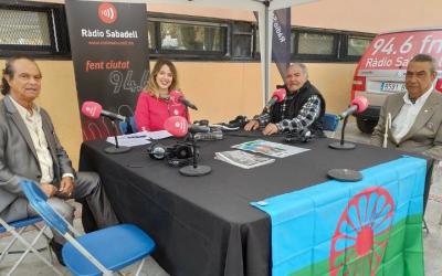 """Els membres del Consell Gitano, al programa especial d''Al Matí""""/ Ràdio Sabadell"""