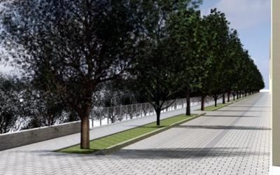 Imatge de com quedarà al carrer Onyar/ Ajuntament de Sabadell