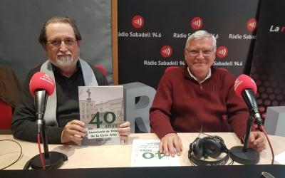 Jordi Torguet (esquerra) i Joan Rifer (dreta) presentant el llibre | Pau Duran
