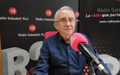 Josep Maria Oliver, cofundador de l'Astronòmica/ Ràdio Sabadell