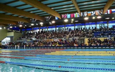 El Campionat d'Espanya Open de Natació d'aquest any s'ha celebrat a la piscina olímpica de Can Llong. | Roger Benet